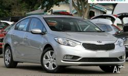 2015 Kia Cerato YD MY15 S Silver 6 Speed Sports