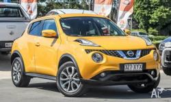 UNDER NEW CAR WARRANTY THIS BRIGHT NISSAN JUKE PRESENTS