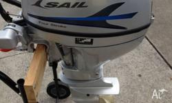 Brand New Sail 15HP 4 Stroke Electric Start S�Shaft