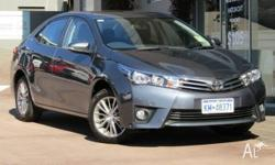 Near new 2015 Toyota Corolla sedans at an awesome
