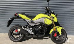 As new one owner Grom that is sure to impress, possibly