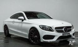 This 2016 MERCDES BENZ C250 d COUPE is a 2.1 Litre 4cyl
