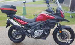FOR SALE: 8/2016 Suzuki 650 XT V-Strom (DL650XA) with a