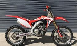 The one you have been chasing, this CRF450R is ready to
