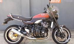 2017 KAWASAKI Z900RS Wow only 2000klms with a