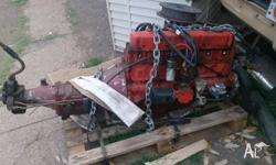 202 Red motor out of hz ute New fuel pump, dizzy cap