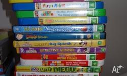 A great collection of children's dvd's! From smoke