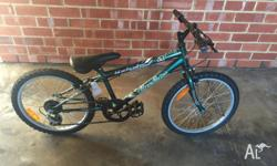 "here for sale is a 20"" bike for kids, practicly a new"