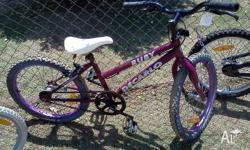 20 inch girls bike in very good condition