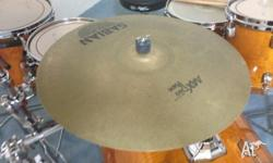"Here for sale is an amazing sabian 20"" aax dry ride on"