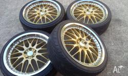 "I have for sell these 20"" Work Wheels. Wheels are still"