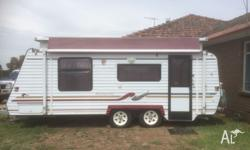 2000 20ft regal tourer pop top caravan in excellent