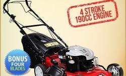"This high eminence Black Eagle 21"" self-propelled lawn"