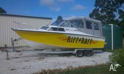 21ft Aztecraft/Sonair 307 Chev engine 280 Volvo Penta