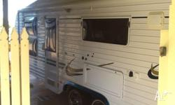 We are selling our 22ft Spaceland duel axel caravan in