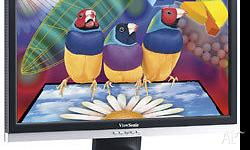 Viewsonic VA2226 22in LCD widescreen monitor in