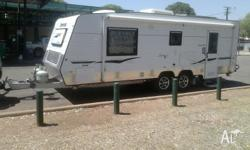 2012 model Empire caravan 23ft in length. We are