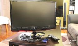 "I'm selling my 23"" LG monitor tv due to upgrading to a"