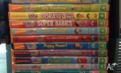 Hi there, We are selling 23 x Dora the Explorer DVD's,
