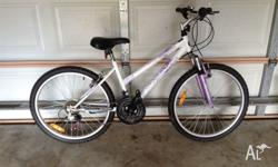 Like new . Bicycle 24 inches girl or boy just serviced.