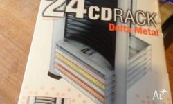 i have for sale a 24 cd rack holder brand new in box no