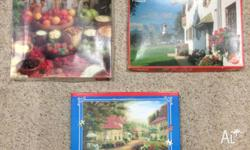 All puzzles in great condition and are missing no