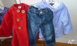 24 x Size One Girl Clothing items: (Thats $2 per