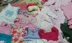 More then 250 baby clothes... thats less then 50c a