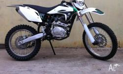 WE HAVE IN STOCK OUR 250CC T4 MODEL KAYO BIKE. ZONGSHEN