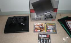 6 month old 250gb slim Ps3, given as gift,selling