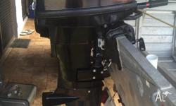 Outboard in good condition and runs very well. It is a