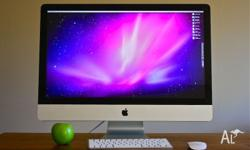 "Near new condition 27"" imac 8GB ram 3.06GHz Intel Core"
