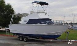 28ft plate aluminium Island star flybridge boat 350