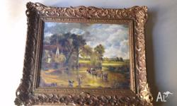 Two beautifully framed paintings for sale. Good