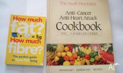 Anti-Cancer, Anti-Heart Attack Cookbook 194 pages How