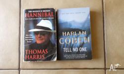 For sale 2 very good books they are hard to put down