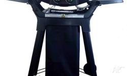 Description: 2 Burner Tabletop Gas BBQ with cast