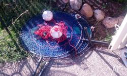 2 crab pots and foam bouys. Used a couple of times.