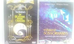 Two of Tim Burton's finest flicks for the family to