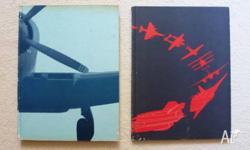 2 fabulous pictorial history of aircraft hard-backed