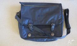 2 Laptop bags for sale 1. leather laptop bag clean