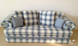 Immaculate condition. 2 lounge sofas with matching