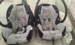 These matching car seat capsules were one of the best