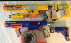 Nerf N-Strike Recon CS-6 and Nerf Raider Rapid Fire
