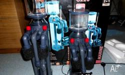 for sale is 2 new aqua one pro skimers one dose 800L