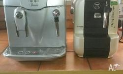 2 coffee machines for sale both in great working order