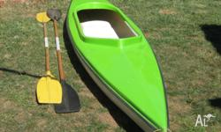 2 seater Kayak - fibreglass hull in excellent condition
