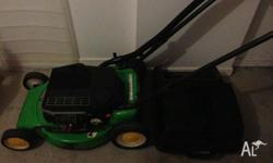 i have a 2 stroke lawn mower and a 4 stroke lawn mower