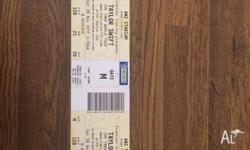 I have 2 Taylor swift tickets (hard copies) B Reserve