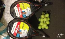 Excellent offer!!! New raquets WILSON, never used as i